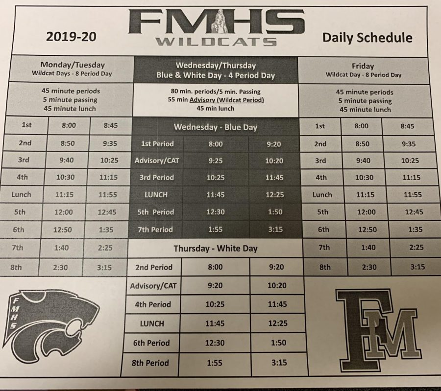 A New Look at Fruita's Schedule