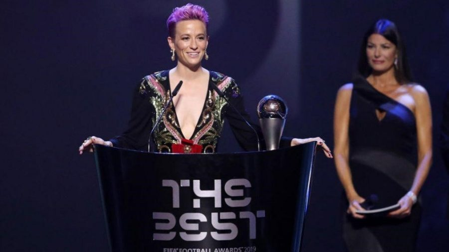 The USA's Megan Rapinoe Named FIFA's Best Women's Player in the World