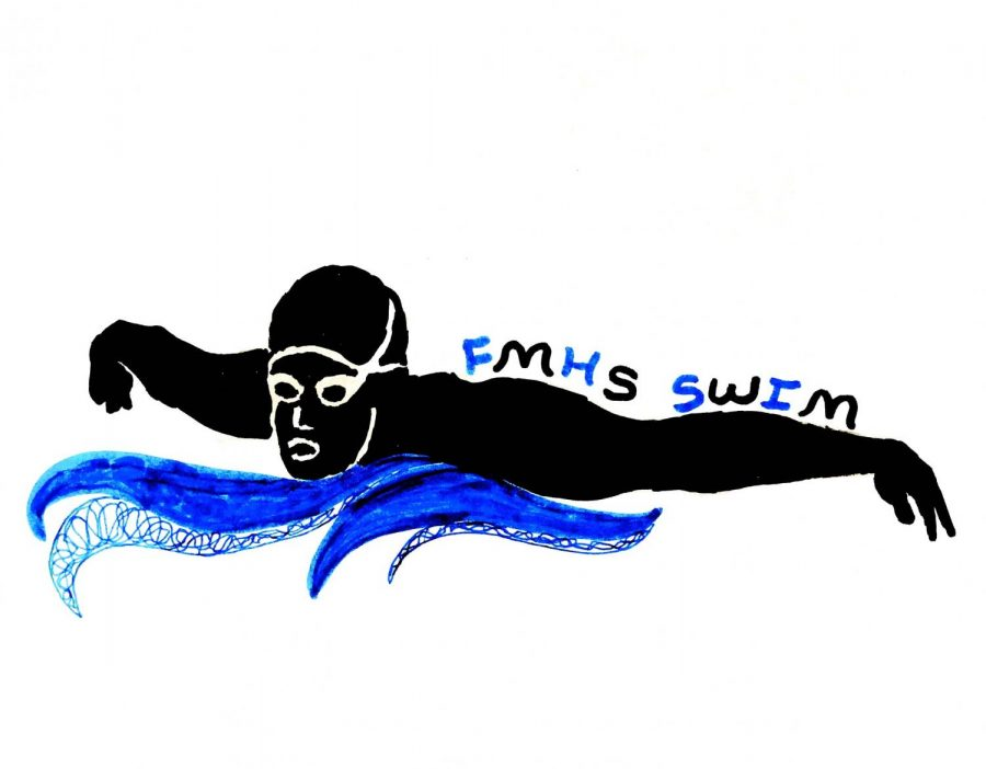 Fruita Monument girls swim team and their intense training