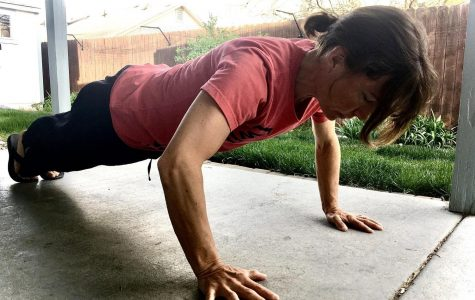 Staying fit-at home
